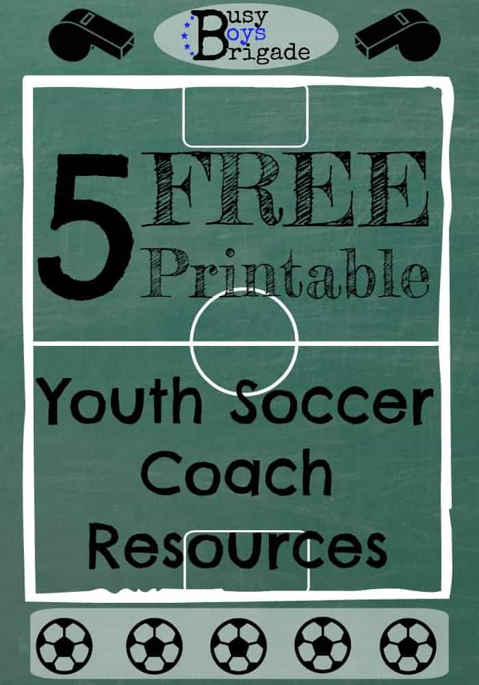 5 FREE Printable Resources for Youth Soccer Coach