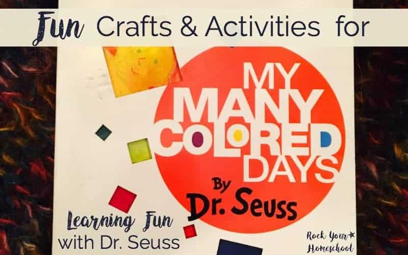 Fun Crafts & Activities for My Many Colored Days