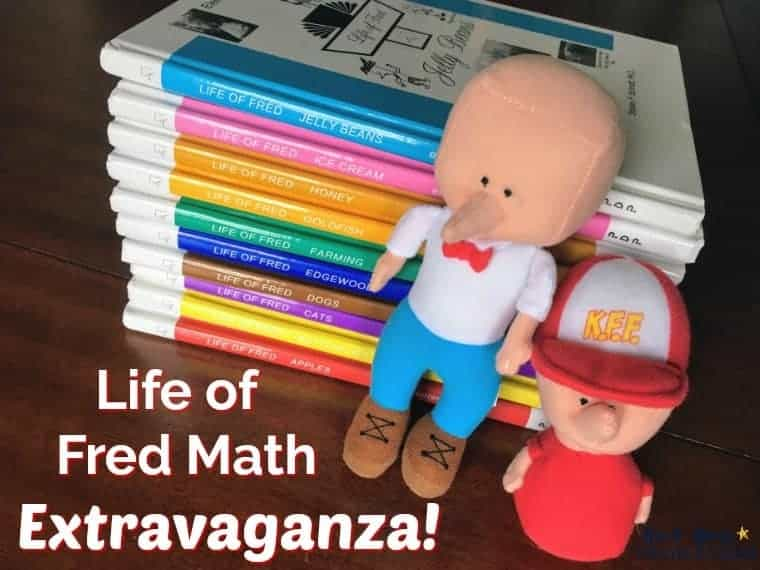 It's a Life of Fred Math Extravaganza! Find out why our homeschool loves using these resources to make math fun & engaging.