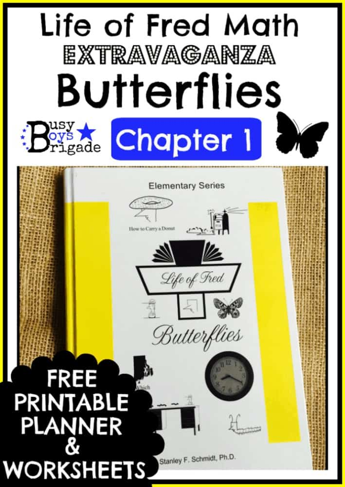 Life of Fred Math-Butterflies Chapter 1