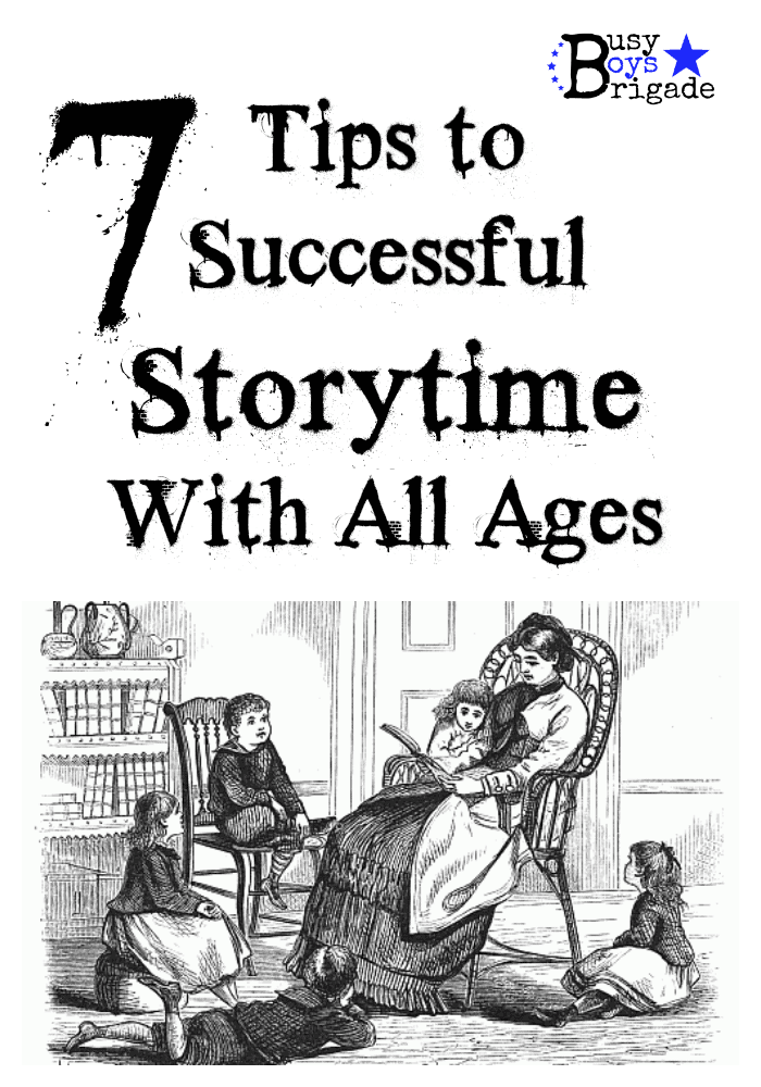 7 Tips for Successful Storytime With All Ages At Home