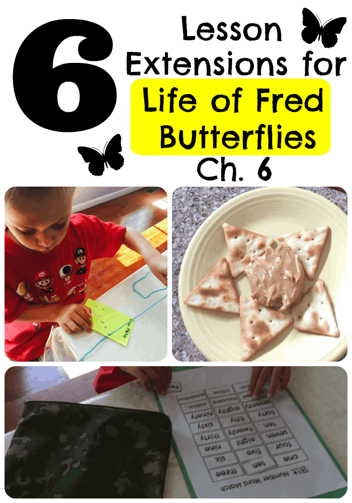6 Lesson Extensions for Life of Fred Butterflies Ch. 6