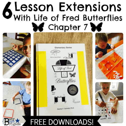6 Lesson Extensions With Life of Fred Butterflies Chapter 7