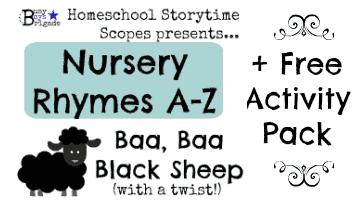 Baa, Baa Black Sheep-Storytime With Nursery Rhymes A-Z