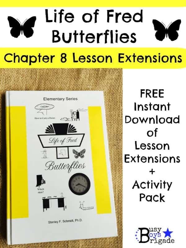 Life of Fred Butterflies-Chapter 8 Lesson Extensions