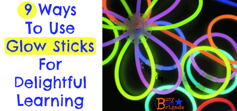 9 Ways To Use Glow Sticks For Delightful Learning