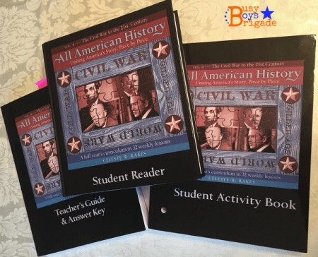 All American History timelines