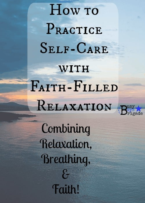faith-filled relaxation