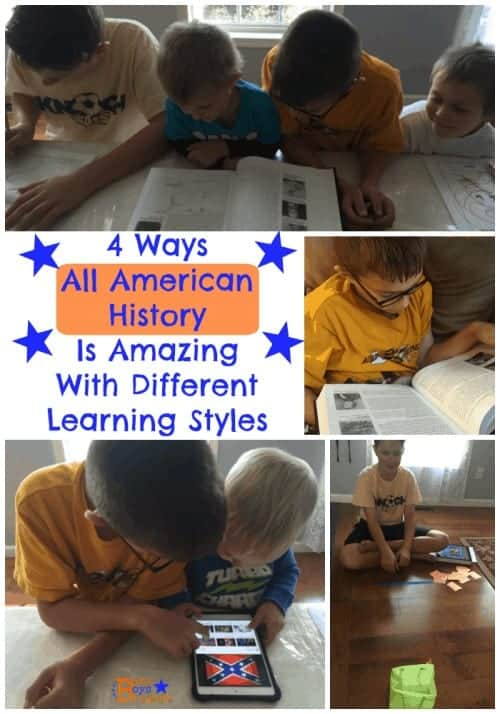 all american history learning styles