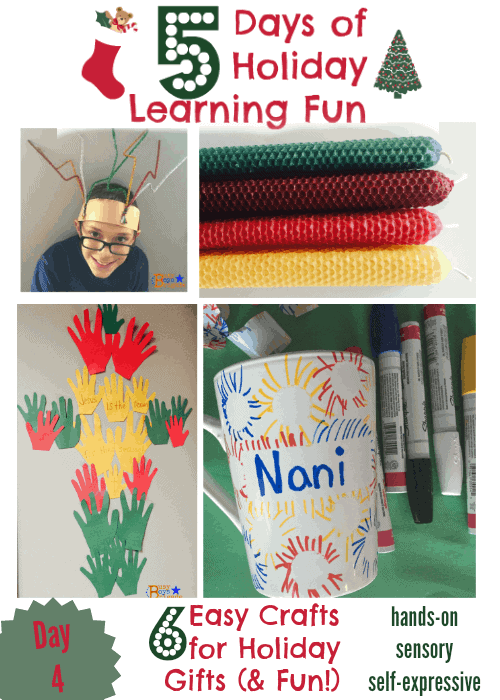 holiday learning fun 6 crafts