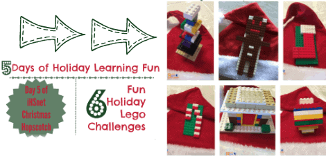 5 Days of Holiday Learning Fun — Day 5:  6 Fun Holiday Lego Challenges