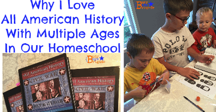 Why I Love All American History With Multiple Ages