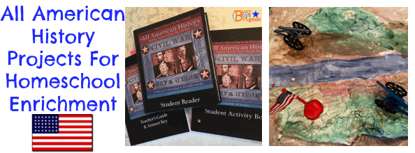 All American History Projects For Homeschool Enrichment