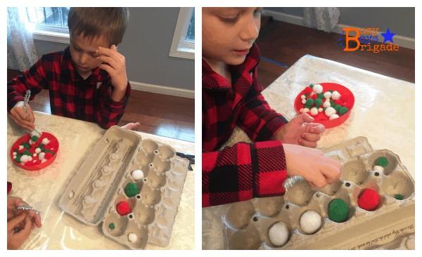holiday learning fun mini snowball game