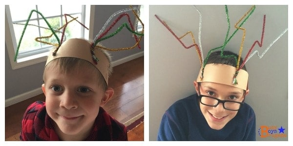 holiday learning fun reindeer headband
