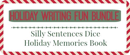 holiday learning fun writing bundle