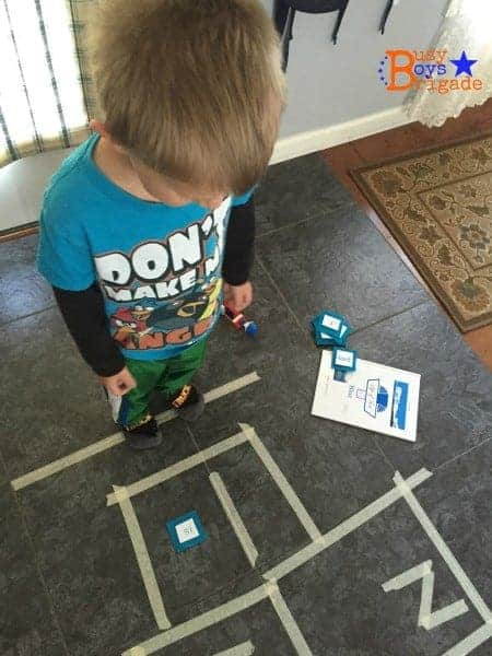 Life of Fred Early Readers hopscotch