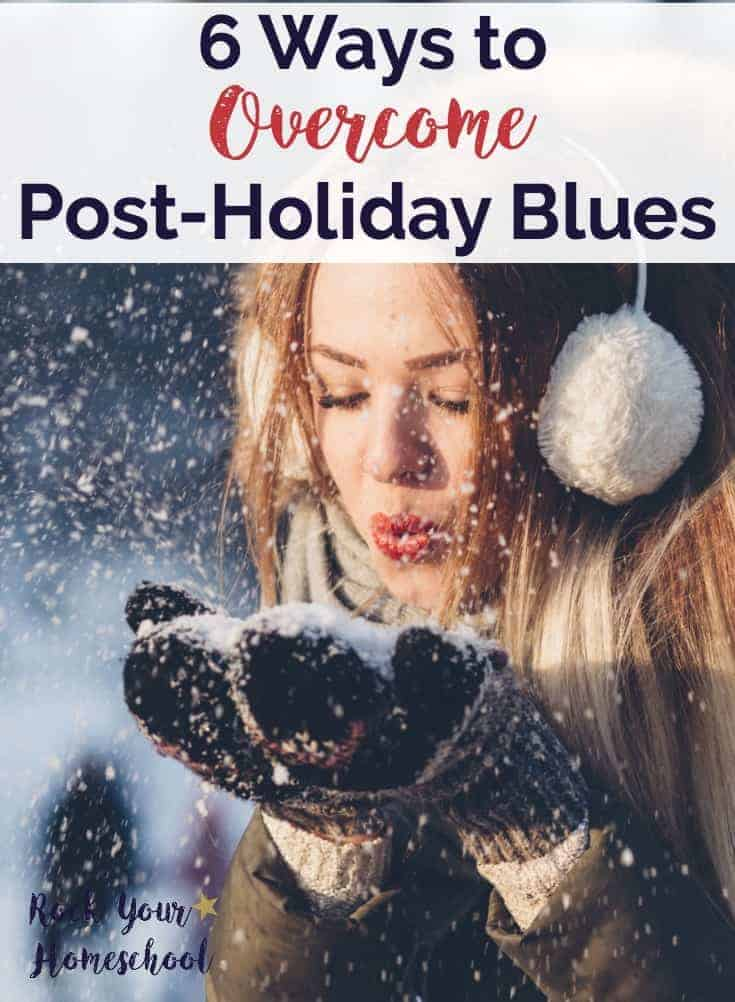 Learn how to overcome post-holiday blues & get on with enjoying life!