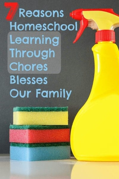 learning through chores
