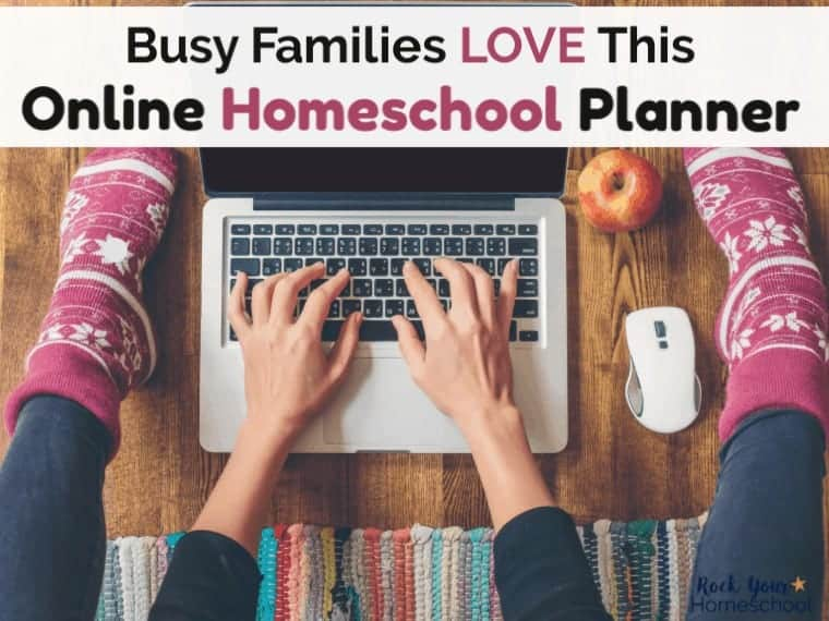 Discover why busy families love this online homeschool planner.