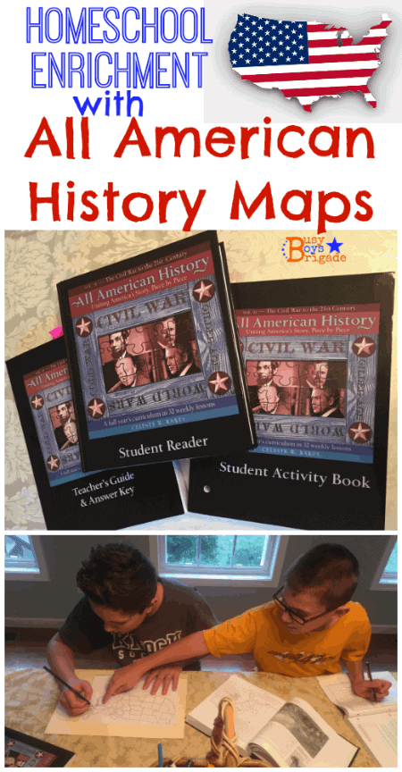All American History maps