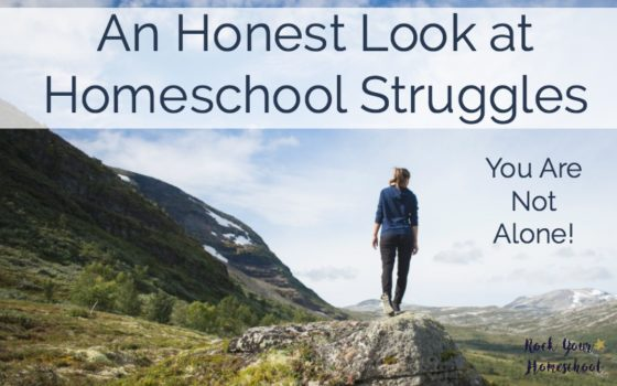 An Honest Look At Homeschool Struggles