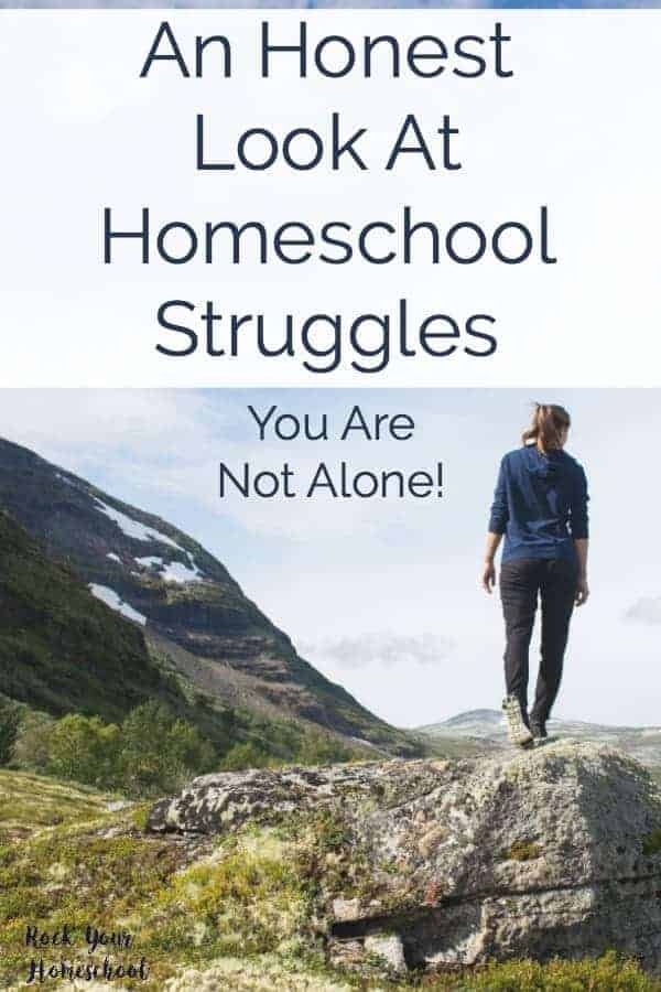 Feeling overwhelmed, scared, or exhausted as a homeschool mom? You are not alone! Find out why homeschool struggles need to be acknowledged and how the right resources can help you overcome them.