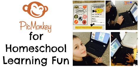 Using PicMonkey For Homeschool Learning Fun