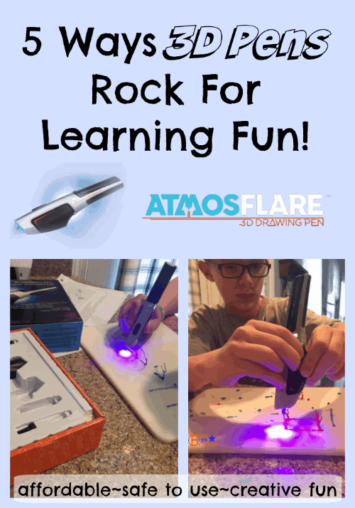 AtmosFlare 3d pens