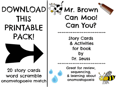 Mr. Brown Can Moo! Can You? download
