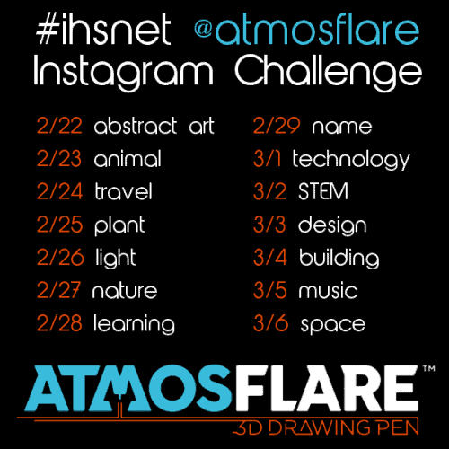 3d pens hsnet Instagram challenge