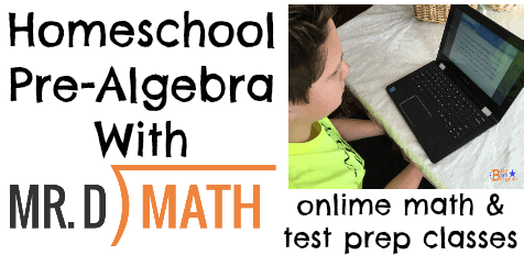 Homeschool Pre-Algebra With Mr. D Math