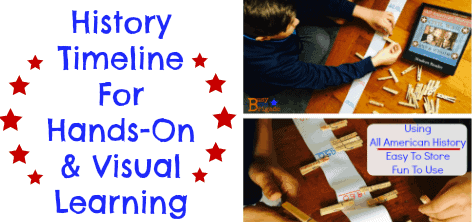 History Timeline For Hands-On & Visual Learning