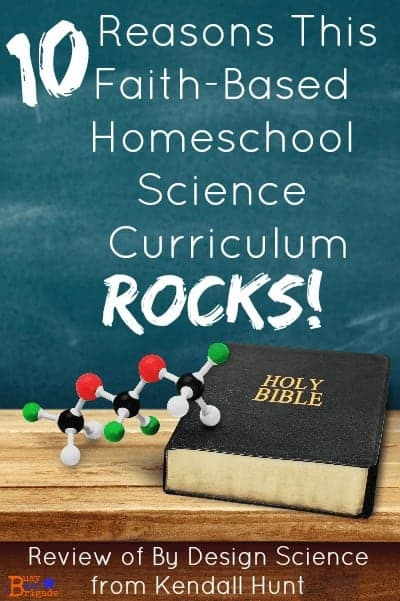 Discover 10 reasons why this faith-based homeschool science curriculum by Kendall Hunt rocks!