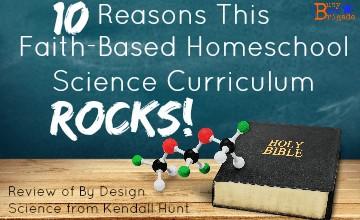 10 Reasons This Faith-Based Homeschool Science Curriculum Rocks