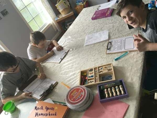 Having a brain dump time every day in your homeschool can be a fantastic way to help your kids and yourself!
