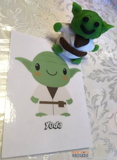 Star Wars fans in your family? Get these 20 free Star Wars cards for playdough fun & more!