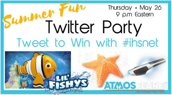 Summer Fun Twitter Party will help you rock your summer learning fun.