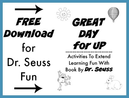 Free download for Dr. Seuss fun with Great Day for Up.