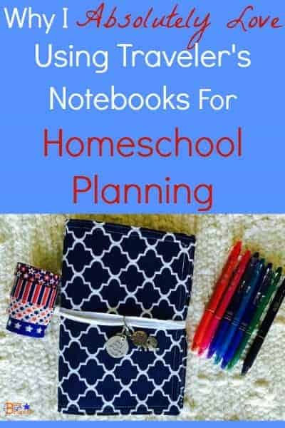 Find out why I absolutely love using Traveler's Notebooks in my Funkydori for homeschool planning.
