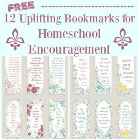 12 Free Uplifting Bookmarks