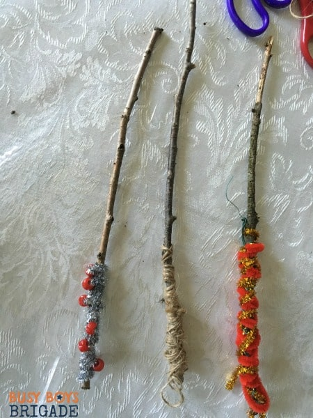 Create custom magic wands and learning sticks with a bit of craft supplies and imagination.