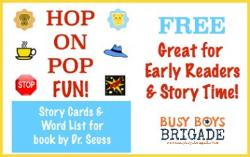 Free Hop On Pop Fun With These Dr. Seuss Printables