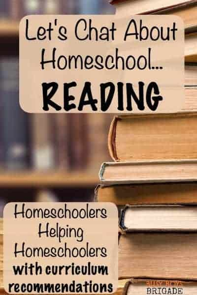 Let's chat about homeschool reading is part of a Periscope and blog series for homeschoolers helping homeschoolers. Find curriculum recommendations and suggestions.