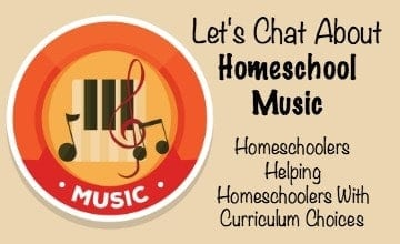 Let's Chat About Homeschool Music