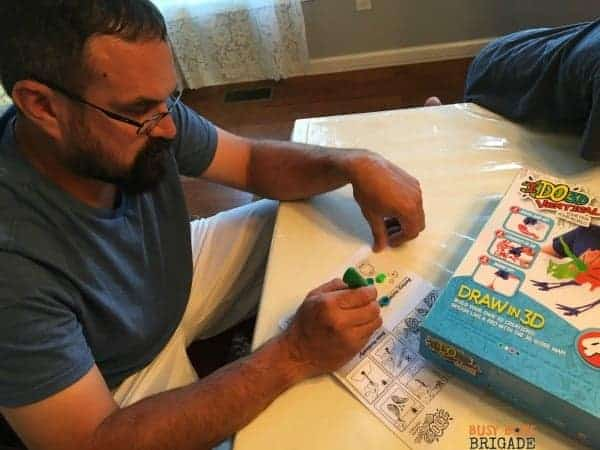 Your whole family will love using 3D pens for a boost to learning fun!
