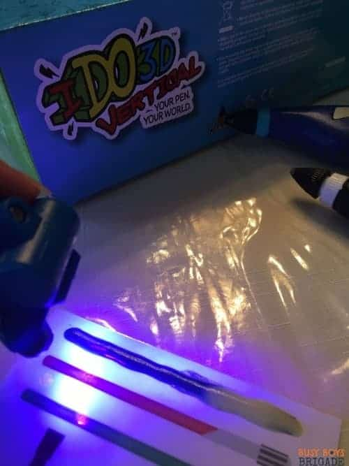 Use your 3D pens on laminated cards for an extra boost to learning fun!