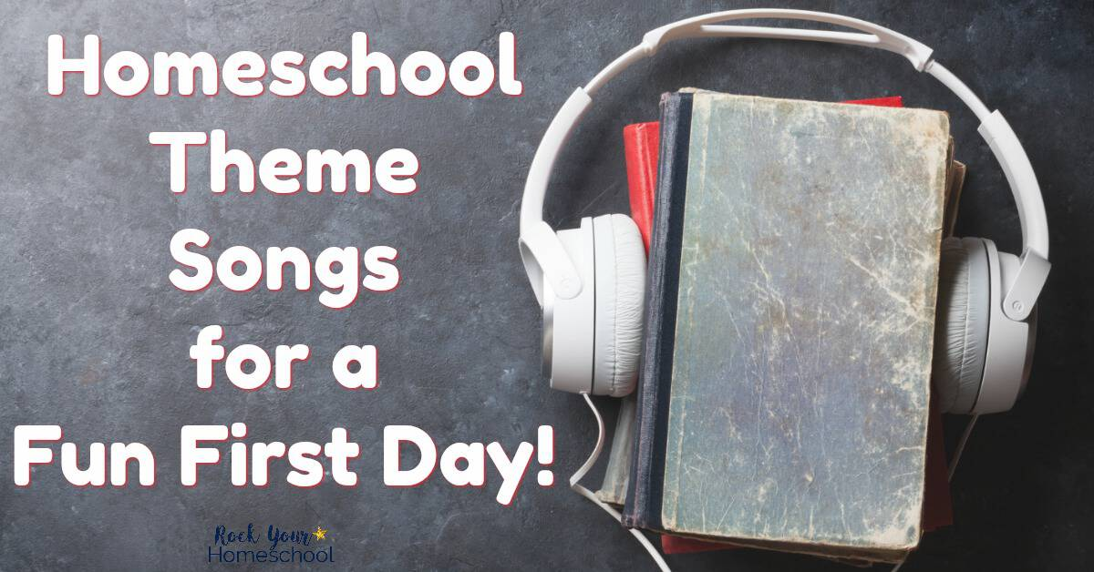 Make back to homeschool time fun! Pick a homeschool theme song with your kid as you chat about your upcoming year.