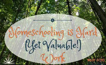 Homeschooling is Hard (Yet Valuable!) Work