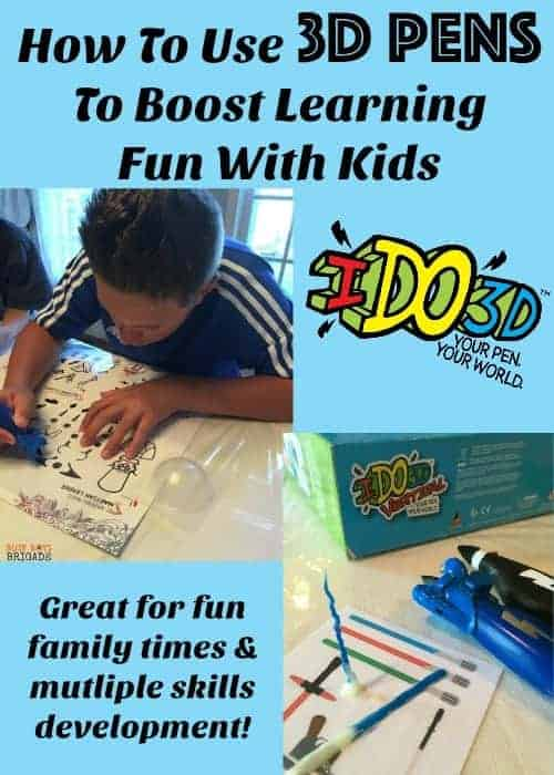 Learn how to use 3D pens to boost learning fun with kids. Get tips & ideas on how you can use 3D pens for fun family times and help your kids develop a variety of skills.